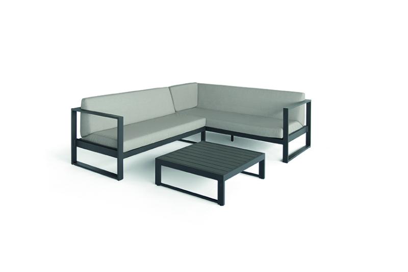 Outdoor Lounge modulair antraciet