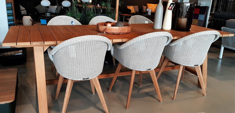 Teak meubelen tuintafel Vincent Sheppard