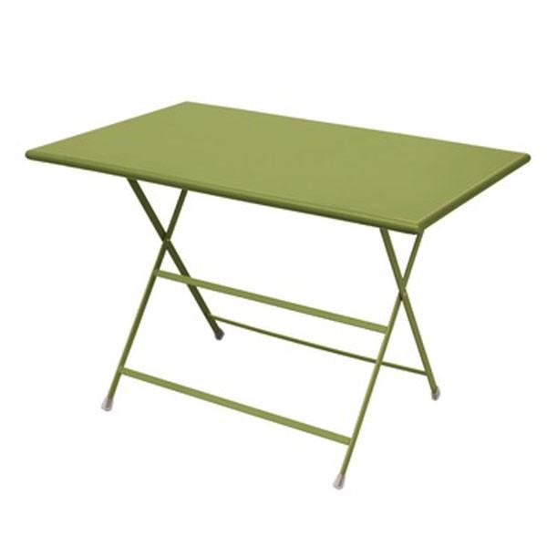 Bistro plooitafel 110x50cm groen