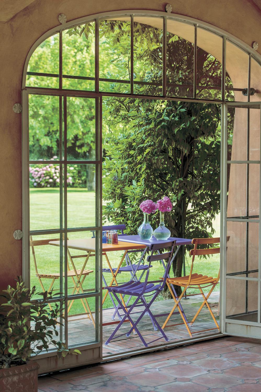 Plooitafel 110x70 met stoelen