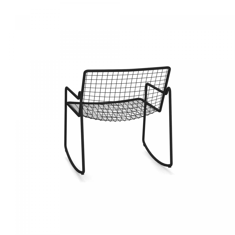 Loungestoel zwart
