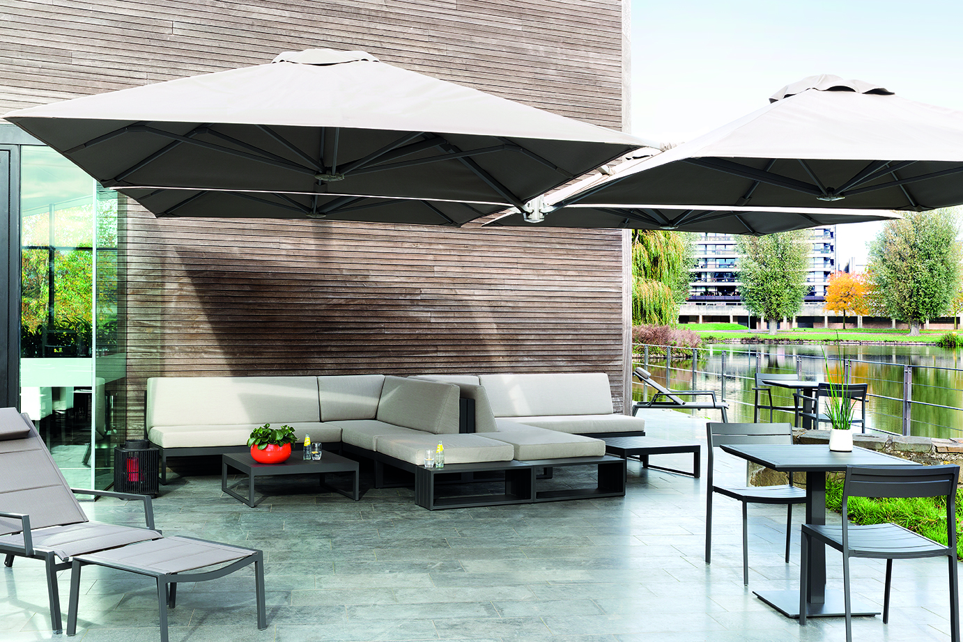 Outdoor lounge modulair Diphano