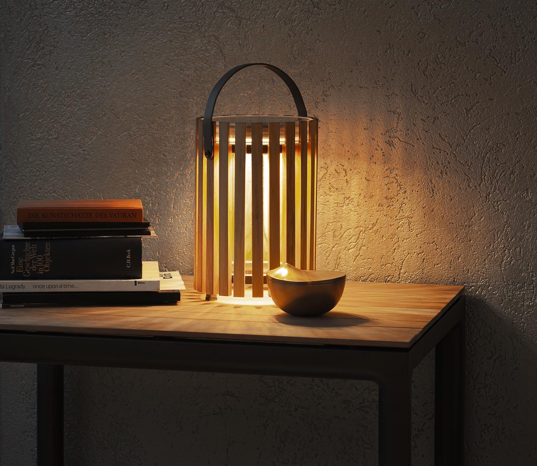 Lamp op zonneënergie