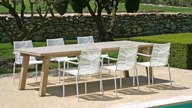 Tuinstoelen Max&Luuk en driftteak tafel