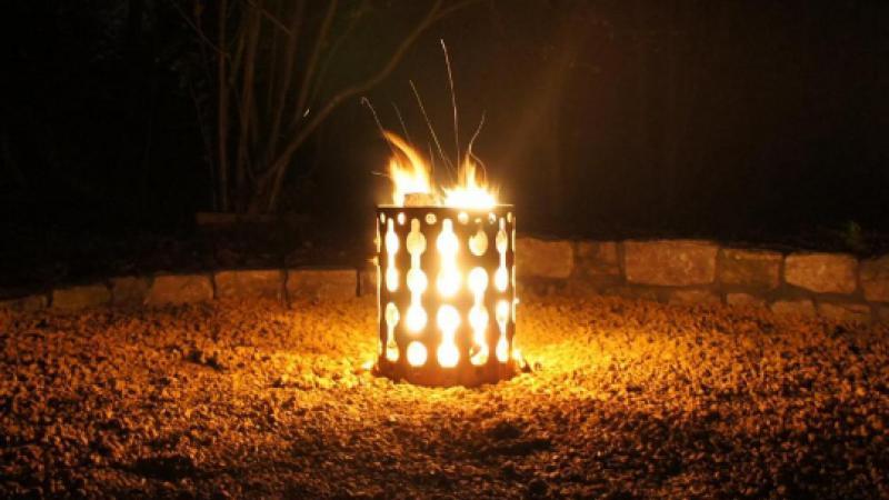 Vuurkorf cortenstaal