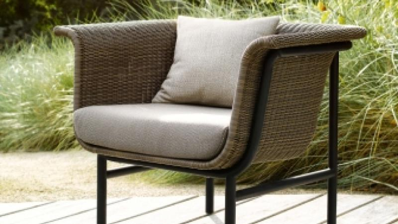 VINCENT SHEPPARD OUTDOOR LOUNGE WICKED WICKER ALUMINIUM