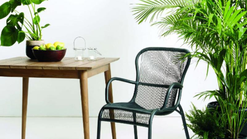 VINCENT SHEPPARD DINING CHAIR LOOP GROEN