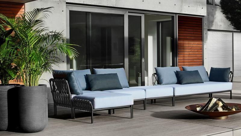 Outdoor Lounge Solpuri Antracite buitensalon