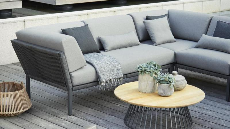Outdoor modulaire lounge Club met Rope