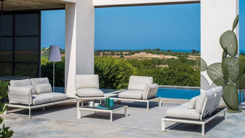Outdoor modulaire lounge wit