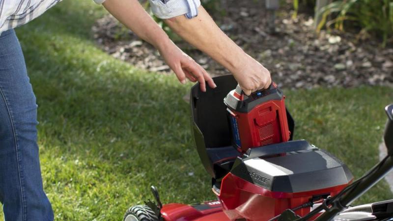 Toro grasmaaier Recycler op batterij