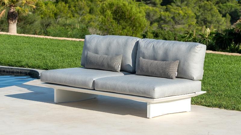 Outdoor Lounge aluminium met weerbestendige kussens