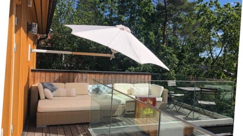 Paraflex parasol muurparasol