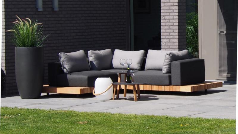 Outdoor lounge teak_weerbestendig