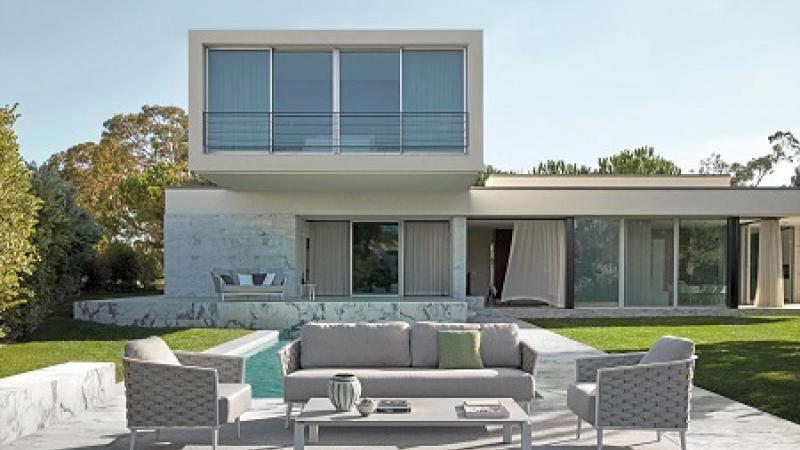 Tuinrama_Outdoor Lounge Cascade_Manutti_Wij adviseren u bij het inrichting van uw droomtuin of terras.