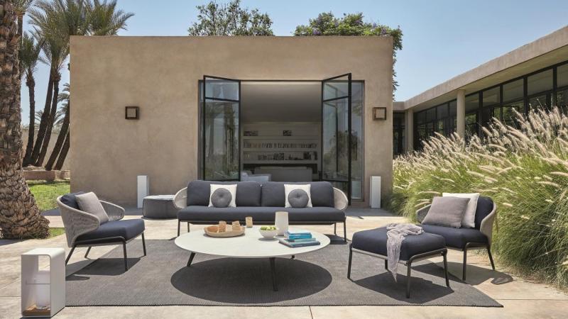 Tuinrama_Outdoor Lounge_Radius_Manutti_Wij adviseren u voor de inrichting van uw droomtuin en terras.