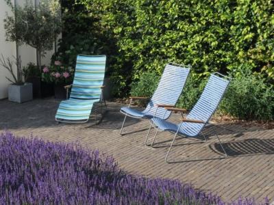 Houe Click Lounge Chair en sunlounger