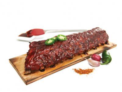 Esdoorn plankjes voor ribbekes barbecuen