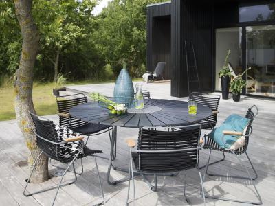 Tuinset Ronde Tafel 110cm Click Chair