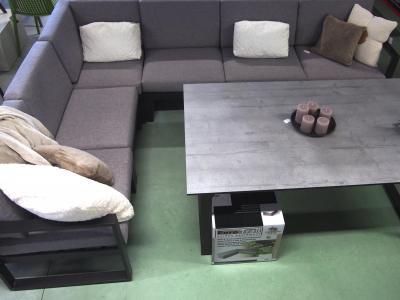 Modulaire loungeset aluminium