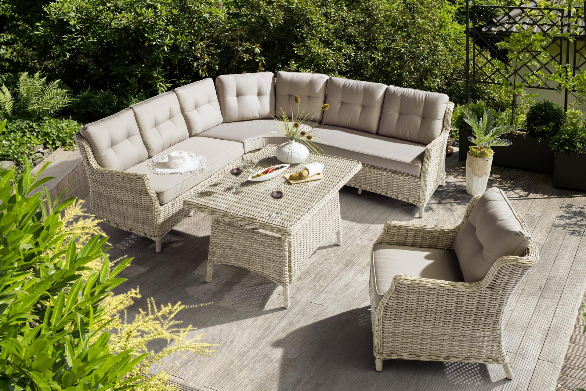 Lounge Hoekset wicker naturel Kettler