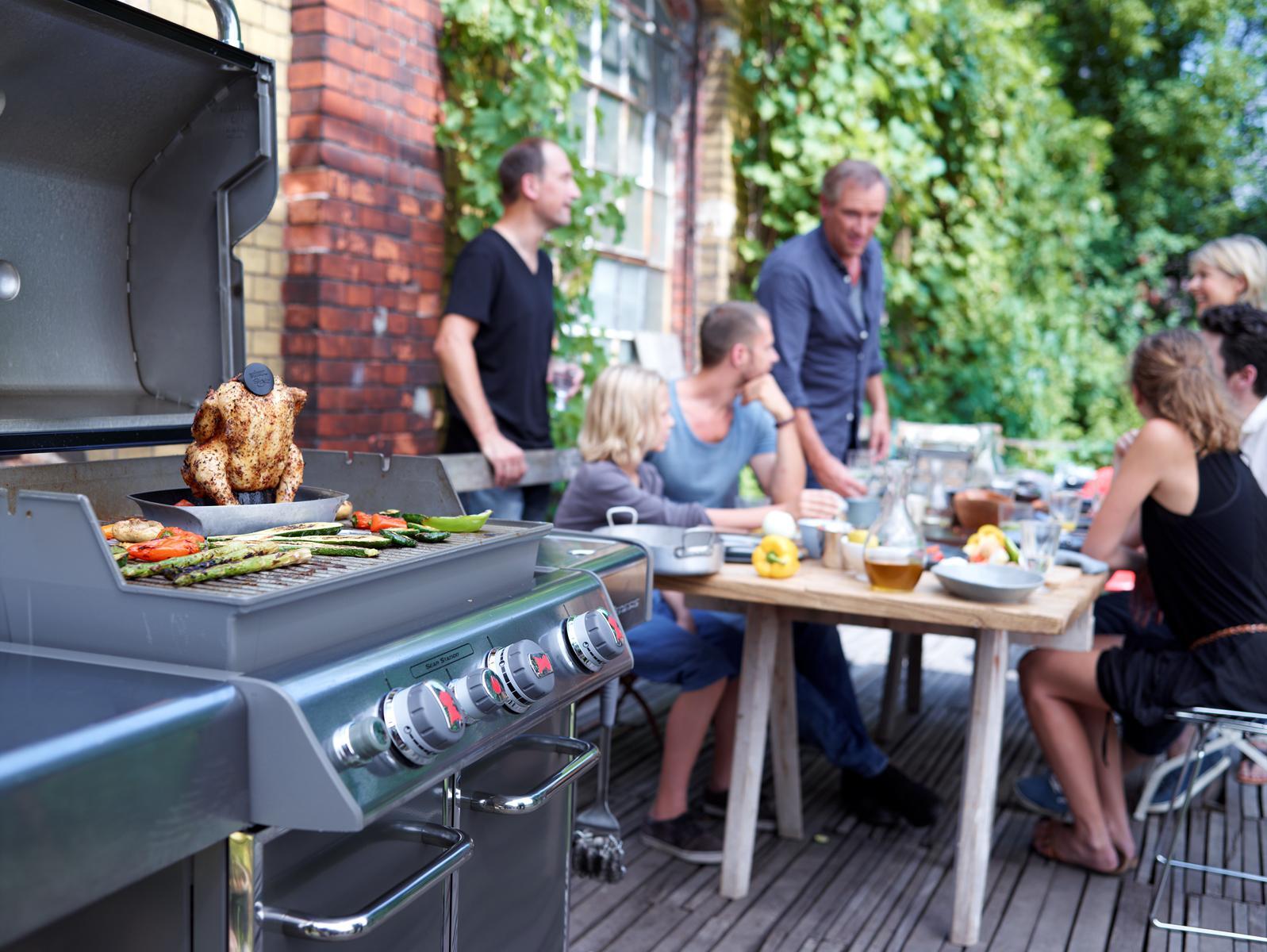 Gasbarbecue Genesis Weber