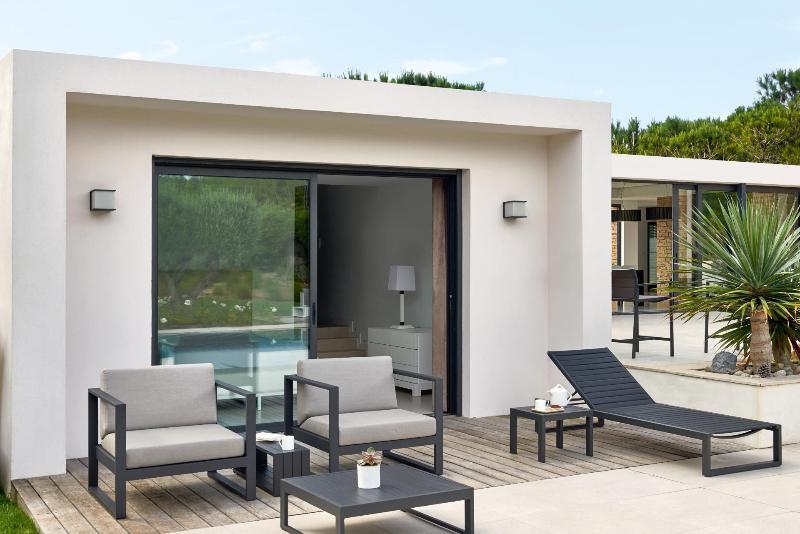 Diphano outdoor lounge met weerbestendige kussens