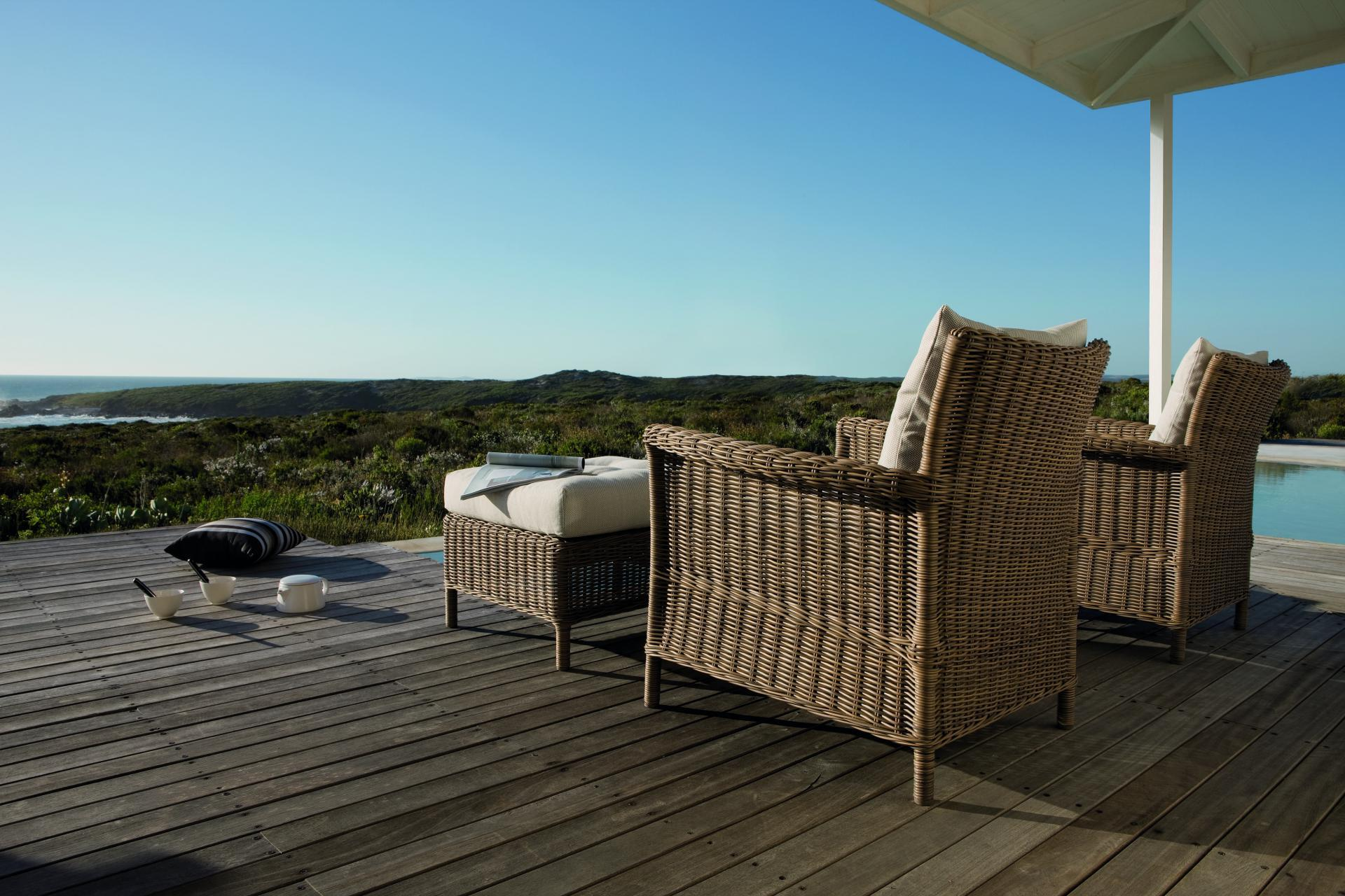 Loungeset Manutti Wicker naturel