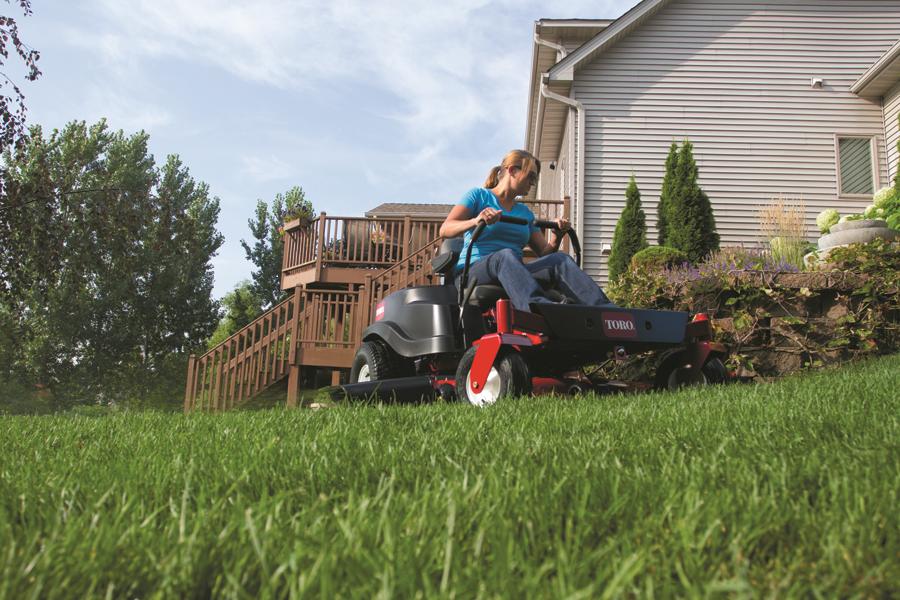 Toro zitmaaier onderhoud grasmachine