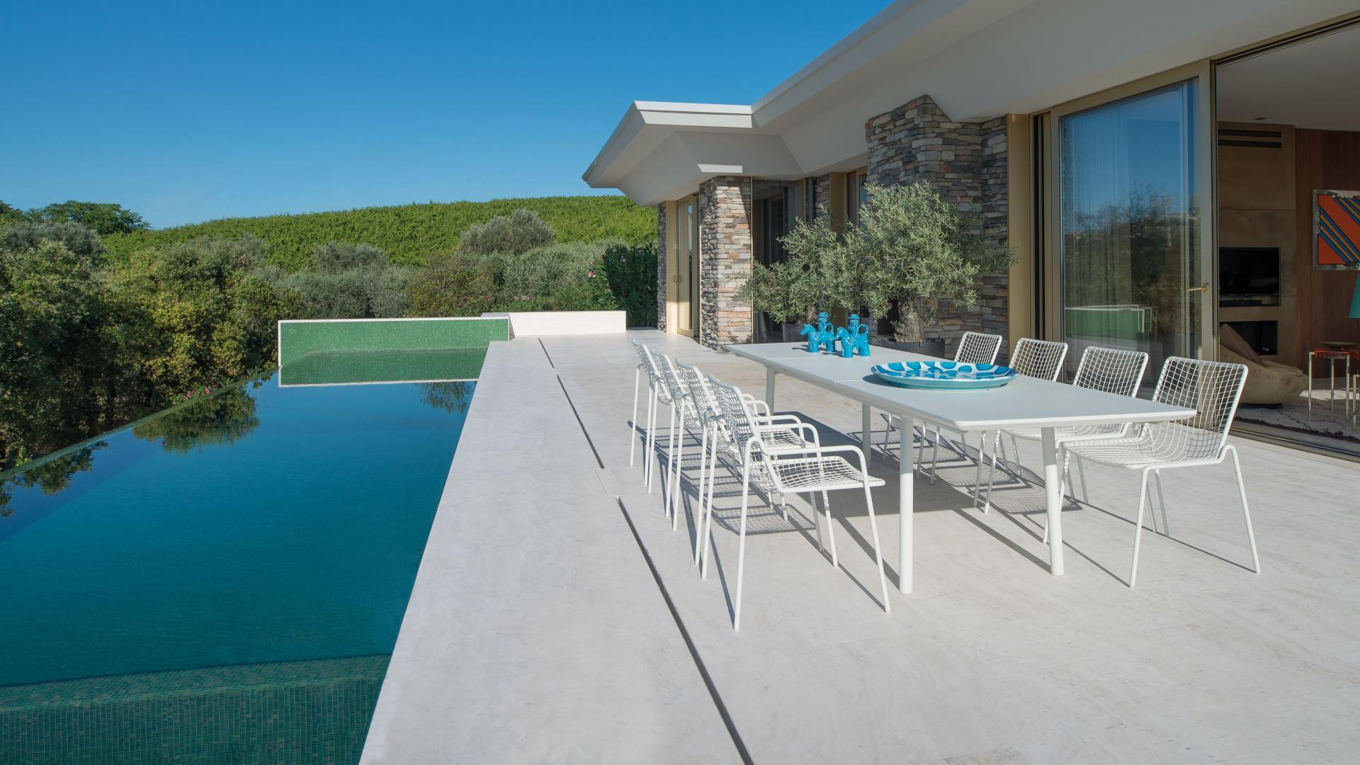 Tuinset wit design tuinmeubelen Rio R50 wit
