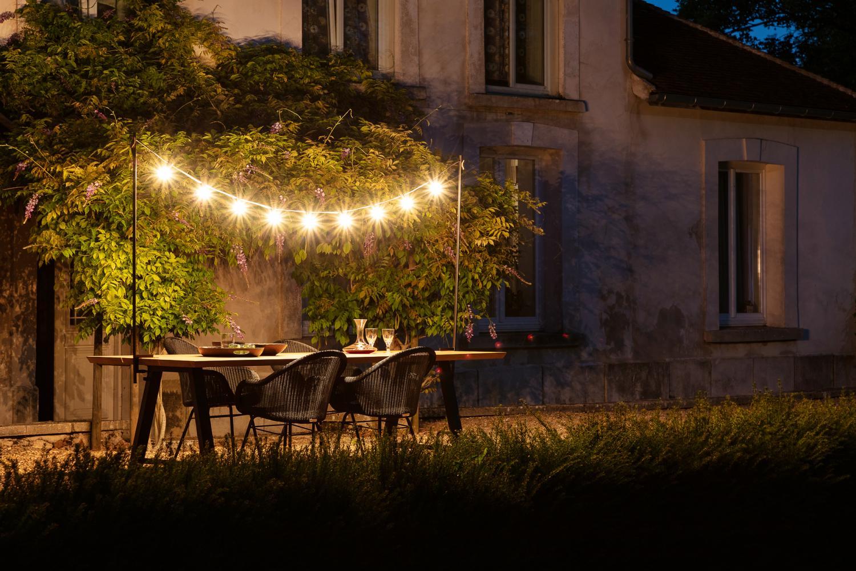 Outdoor light, Lichtsnoer voor buiten, Light my table